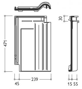 Технічні характеристики модель керамічної черепиці Рубін 11V