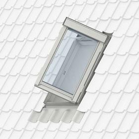 GXL - вихід на дах для приміщень, що опалюються