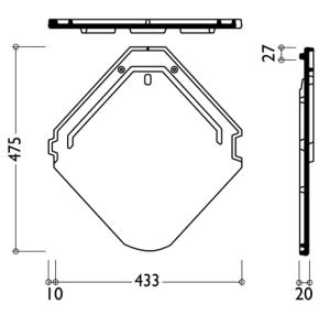 Технічні характеристики модель керамічної черепиці Смарагд