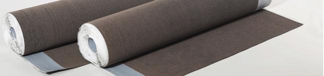 Kerabit 2200 UB  Резинобітумний самоклеющийся підкладковий килим, армуючою основою якого є скловолокно.