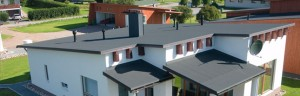 KERABIT 10+ - практичний і вигідний варіант облаштування похилого даху із застосуванням спеціальних рулонних матеріалів.