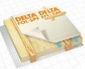 DELTA-FOL SPF Гідроізоляція по суцільному настилу для скатних дахів з двошаровою вентиляцією.