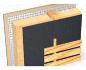 Використання плівок DELTA в фасадах з відкритими щілинами в облицюванні.