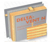 Використання плівок DELTA в системах стандартних вентильованих фасадів.
