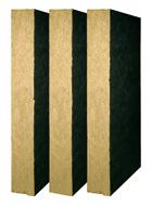 WENTIROCK F- плити з кам'яної вати Застосування. Негорюче утеплення: • зовнішніх стін з фасадним облицюванням панелями, сталевого або дерев'яного каркасу; • зовнішніх стін з фасадним облицюванням з каменю або скла.