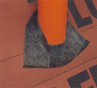 DELTA-FLEX-BAND Еластичний бітумно-каучуковий клей на високоміцній стрічці з нетканого матеріалу.