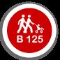 В-125 Клас навантаження B-125 (12500 кг)