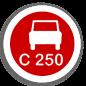С-250 Клас навантаження С-250 (25000 кг)
