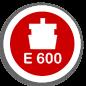 E - 600 Клас навантаження Е - 600 (60000 кг)