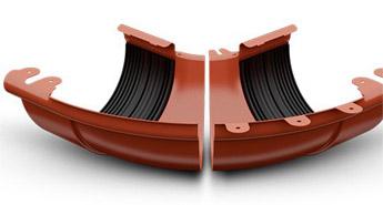 GALECO регулюючий кут водостічна система, галеко водосток регулюючий кут