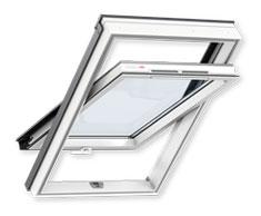 Мансардне вікно VELUX OPTIMA Комфорт ПВХ, ручка знизу (GLP 0073B)