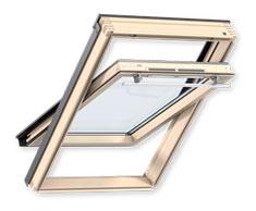 Мансардне вікно VELUX OPTIMA Комфорт, ручка зверху GLR 3073