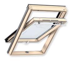 Мансардне вікно VELUX OPTIMA Комфорт дві ручки GLR 3073BT