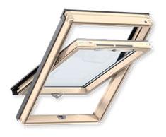 Мансардне віконо Optima Стандарт ручка знизу (GZR 3050B)