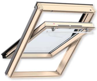 Фото мансардне вікно VELUX OPTIMA Комфорт, ручка зверху GLR 3073