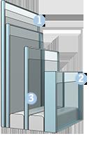 Склопакет (код - 62) - оптимальна теплоізоляція, зменшення шуму дощу та напилення «Анті-роса»