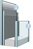 Склопакет (код - 70Q) - вдосконалені характеристики безпеки для цілковитого спокою