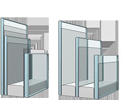 Склопакет (код - 82) - оптимальна теплоізоляція, звукоізоляція та не вибагливе у догляді покриття