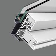 Мансардне вікно VELUX OPTIMA Комфорт ПВХ GLP 0073B - ПВХ профіль спеціально розроблений для мансардних вікон.