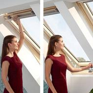Мансардне вікно VELUX OPTIMA Комфорт - дві ручки GLR 3073BT