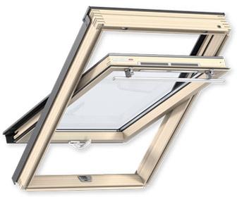 Переваги мансардних вікон VELUX лінії OPTIMA Комфорт з двома ручками GLR 3073BT