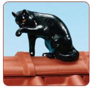 Декоративні елементи покрівлі - кіт