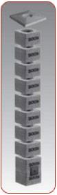SCHIEDEL ISOKERN - одношарова димохідна система модулів, виготовлених з вулканічної пемзи