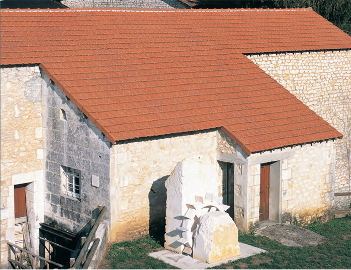Керамічна черепиця Вінтаж, Vintazh house
