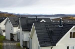 Фотографії композитної черепиці Isola Powertekk Nordic