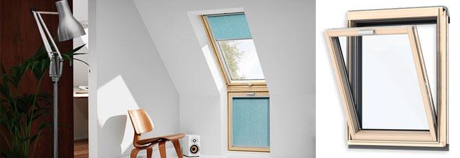 Карнизні вікна Velux
