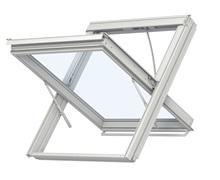 Мансардне вікно з системою димовидалення