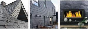 Сланец Samaca - пасує усім поверхням вашого будинку Покрівля - Фасад - Інтер'єр