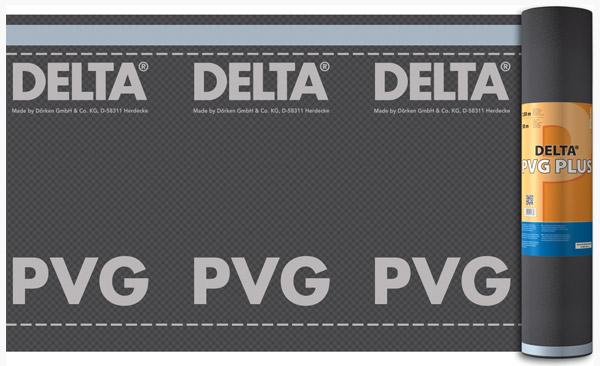 Водозахисні, конвекційні плівки DELTA®-PVG PLUS /DELTA®-PVG