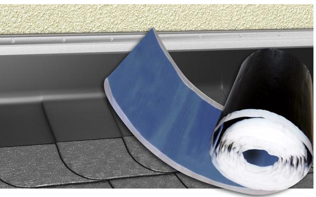 DELTA®-TOP FLAT PB - самоклейкий рулон преміум-класу з пофарбованого гладкого свинцю для примикань