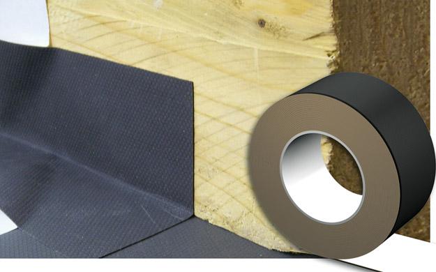 DELTA®-TAPE FAS 60 - одностороння клеюча стрічка для мембран DELTA®-FASSADE / DELTA®-FASSADE S. Застосовується для проклейки нахлестів, примикань та деталей.
