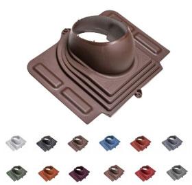 PELTI Vilpe Прохідний елемент для металочерепиці з висотою профілю до 38 мм.