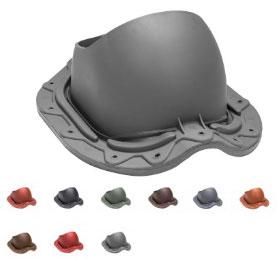MUOTOKATE Vilpe Прохідний елемент для металочерепиці з профілем Monterrey