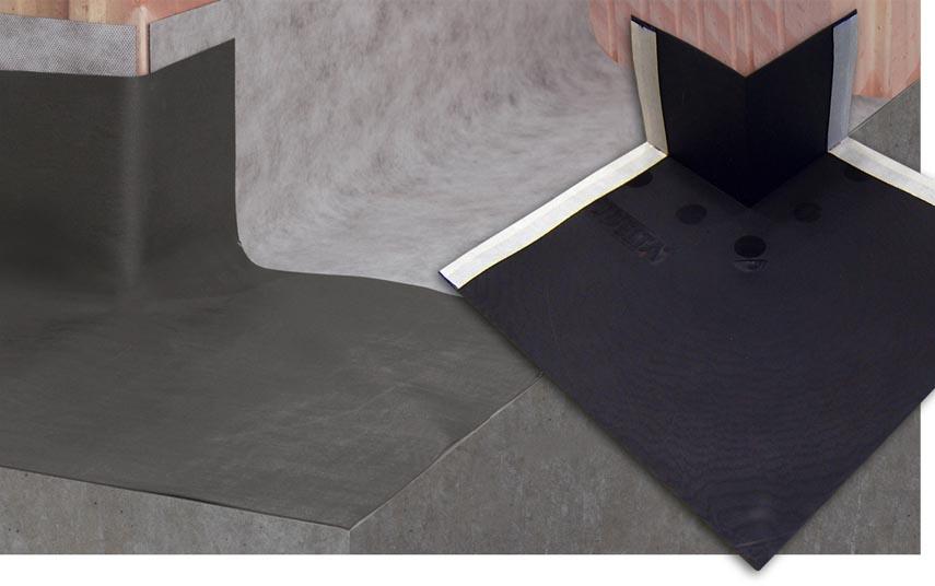 DELTA®-MAUERWERKSECKE - фасонна деталь для пристрою відсічної ізоляції