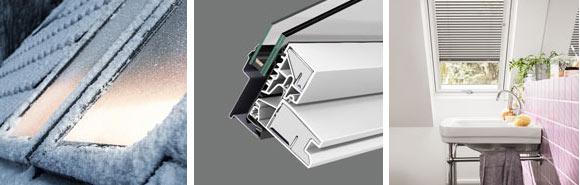 Переваги мансардних вікон VELUX лінії OPTIMA ПВХ GLP 0073B