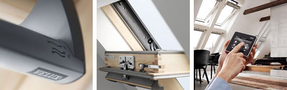 Переваги мансардних вікон VELUX PREMIUM, ручка зверху GGL 3070