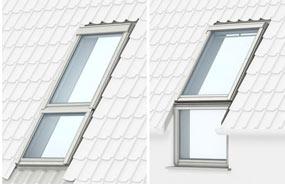 Поєднання вікон з додатковими елементами