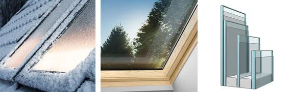 Переваги екстра теплих VELUX Преміум мансардних вікон