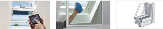 Аксесуари для мансардного вікна для пасивного будинку