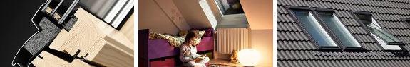 Мансардні вікна VELUX з покращеною звукоізоляцією властивості