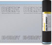 DELTA®-ENERGY - дифузійна мембрана з тепловідбиваючим покриттям для південних регіонів.