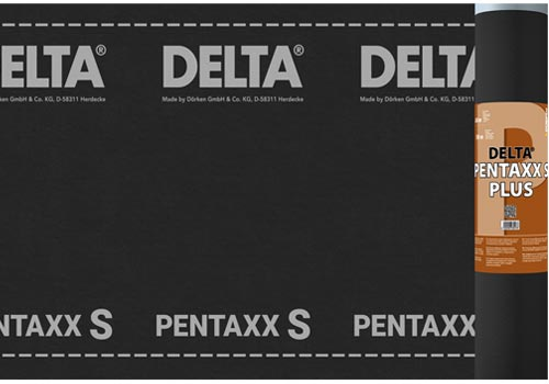 DELTA®-PENTAXX S PLUS Армована диффузійна мембрана з високою УФ-стабільністю