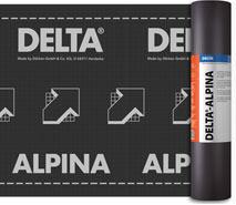 DELTA®-ALPINA - дифузійна мембрана для створення водонепроникного шару похилих і складних дахів. Унікальна технологія зварного шва.