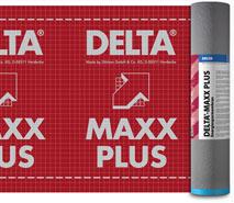 DELTA®-MAXX PLUS - дифузійна мембрана преміум-класу з інтегрованою самоклейкою стрічкою для дахів з повним утепленням крокв.