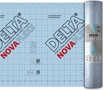 DELTA®-NOVAFLEXX - адаптивна плівка зі змінною паропроникністю для ремонту мансард із зовнішнього боку і нового будівництва дерев'яних будинків.