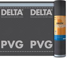 DELTA®-PVG PLUS / DELTA®-PVG - водозахисні (конвекційні) плівки для холодних дахів або дахів з двома вентиляційними зазорами. Застосовуються в якості повітря-і пароізоляції з обмеженою паропроникністю.